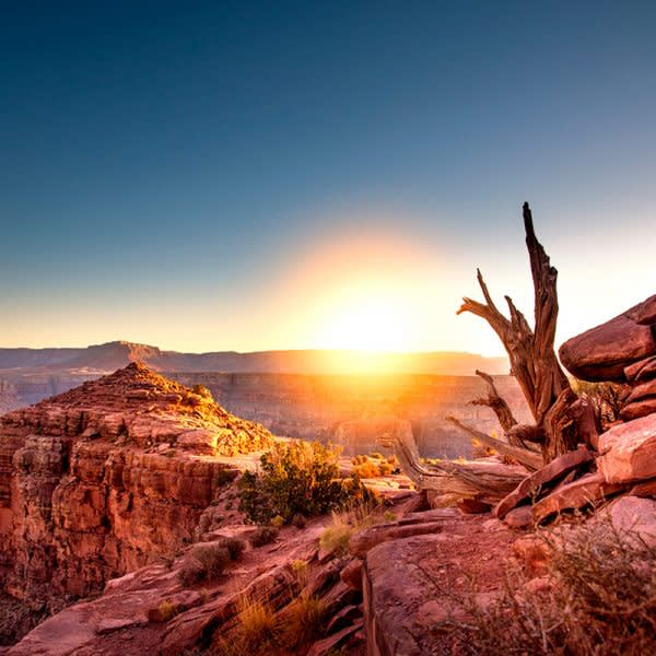 GRAND CANYON WEST RIM HOTEL CABIN STAY GUANO POINT