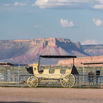 GRAND CANYON WEST RIM HOTEL CABIN STAY HUALAPAI RANCH STABLES
