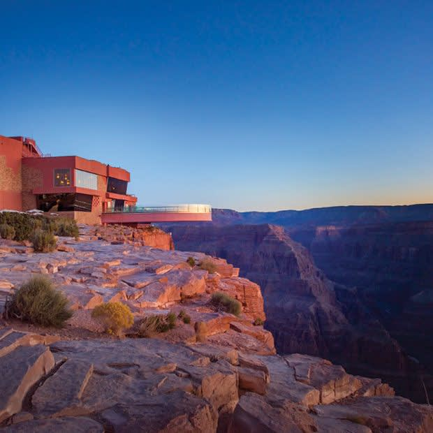 Grand Canyon West Rim Bus & Helicopter Adventure skywalk image 3