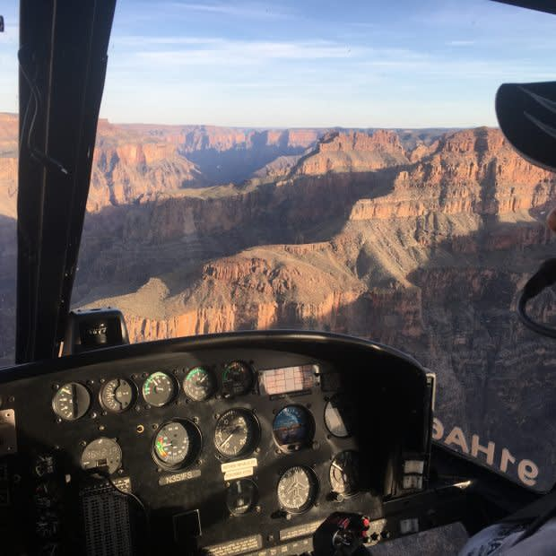 """GRAND CANYON WEST HELICOPTER ETERNITY AIR TOUR """"TO THE EDGE & BEYOND"""""""