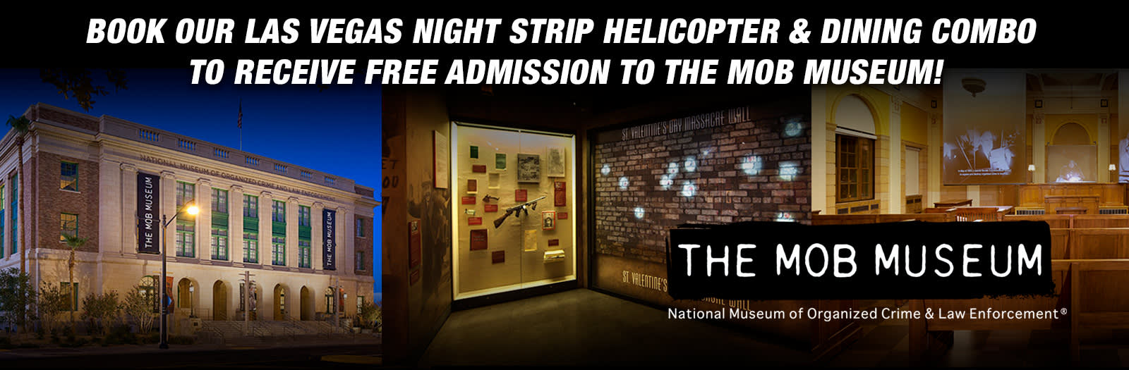 5 star helicopters discount tours with mob museum ticket