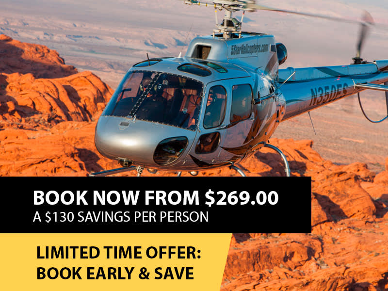 Discount Grand Canyon Helicopter Tour