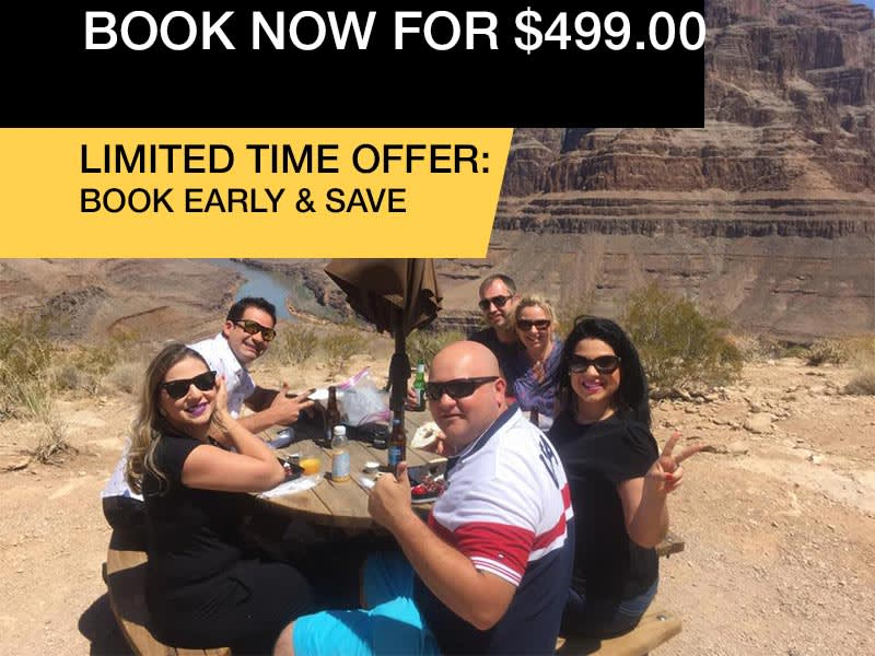 GRAND CANYON FLOOR LANDING HELICOPTER TOUR BOOK NOW FROM $499.