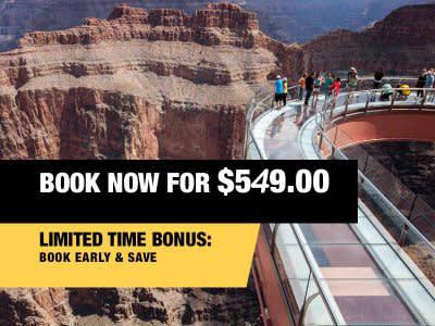 VIP Skywalk Express Book Now From $549.00