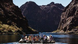 Colorado River Rafting Tour after Grand Canyon Helicopter Tour