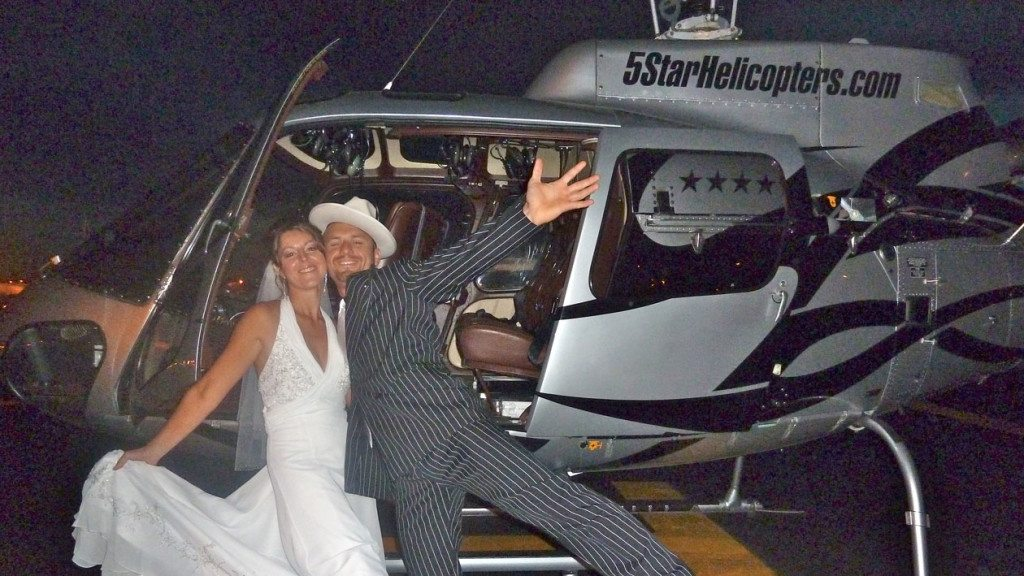 las vegas helicopter wedding