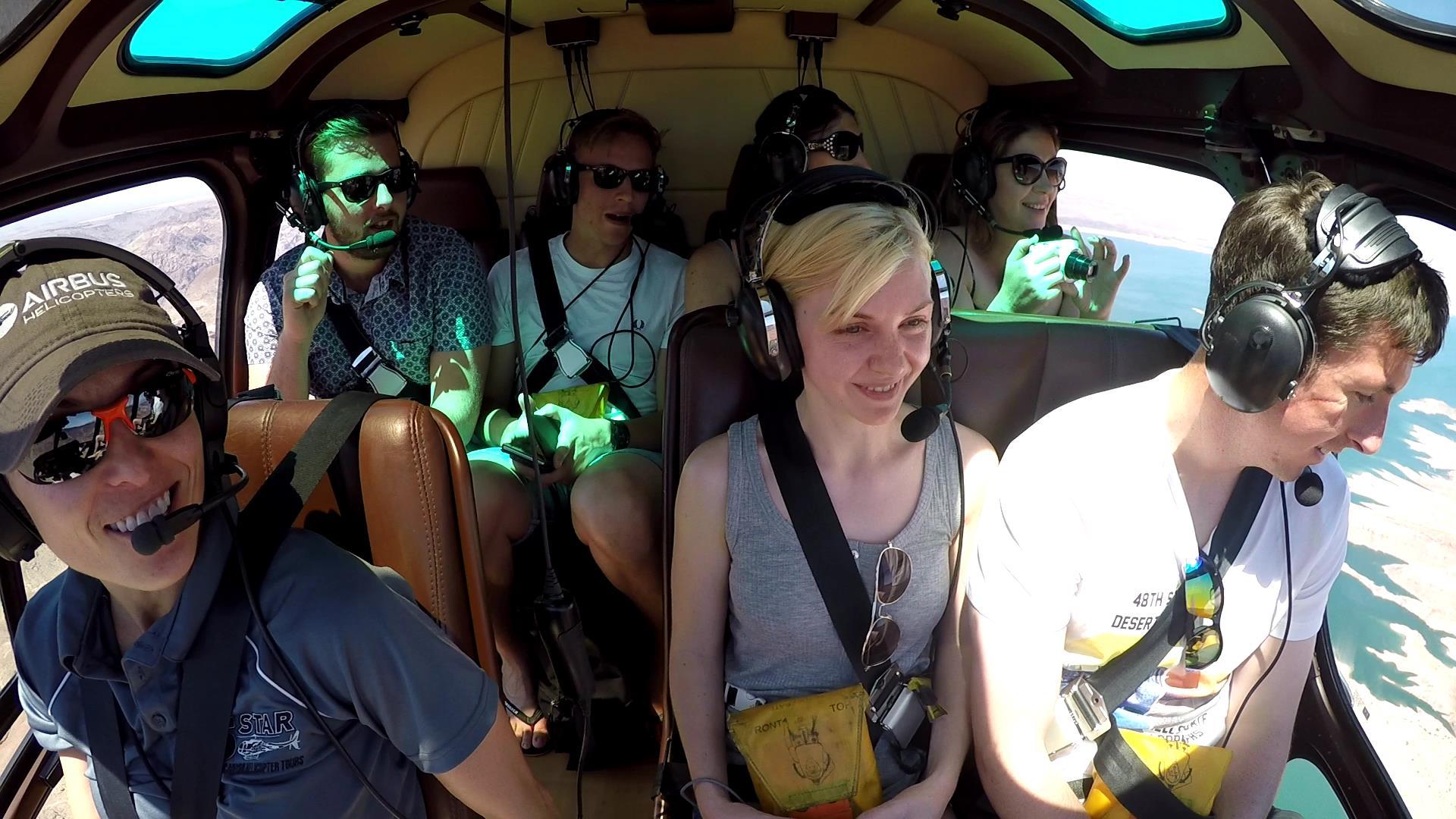 our tour pilot experience