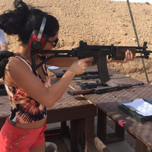 AS VEGAS OUTDOOR SHOOTING RANGE EXPERIENCE AND GRAND CANYON FLIGHT