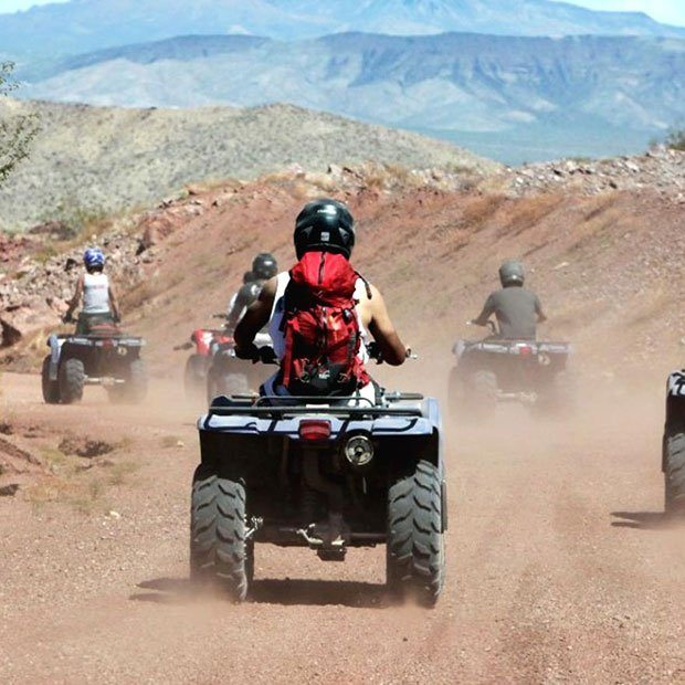 ATV ADVENTURE TOUR AND GRAND CANYON HELICOPTER FLIGHT