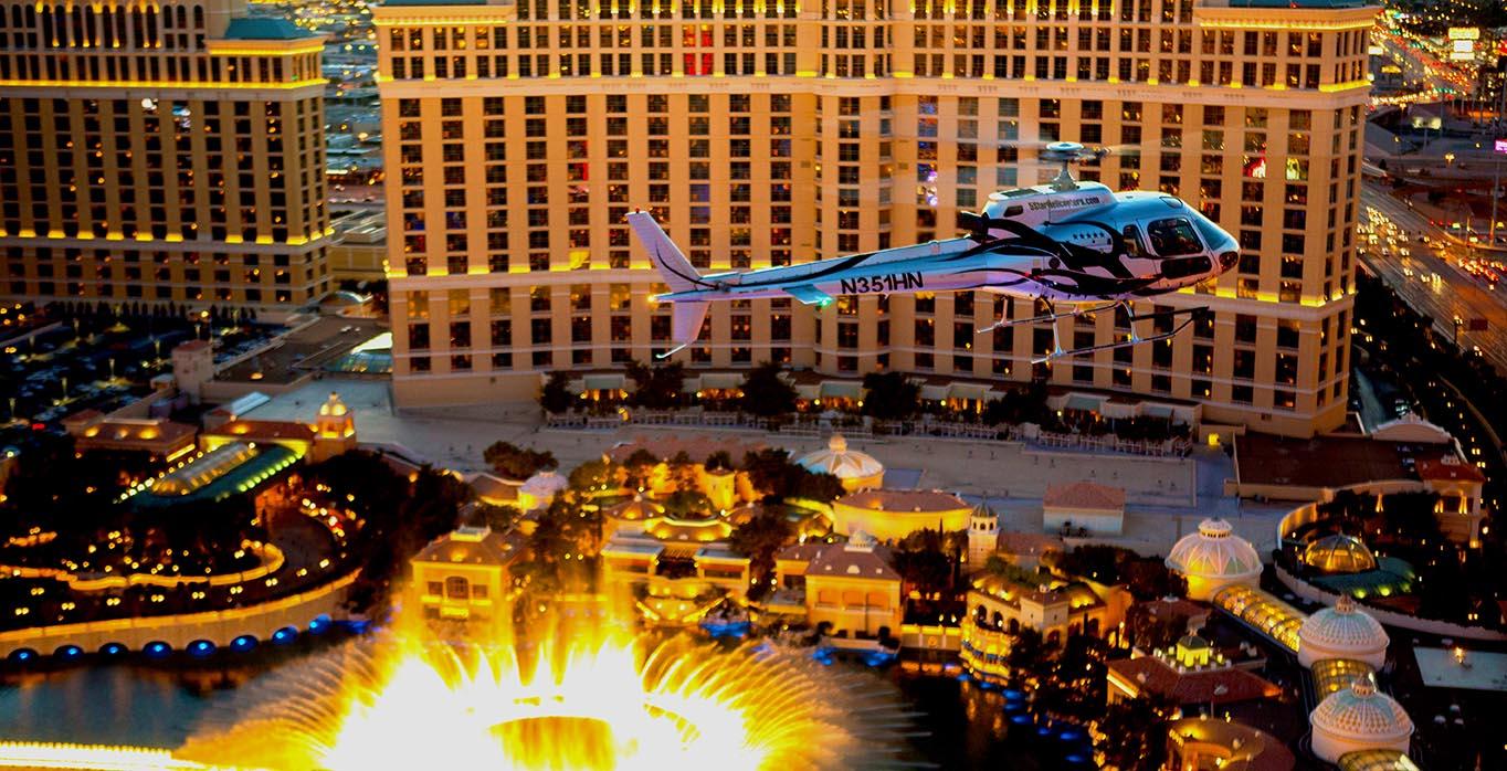 Las Vegas Night Strip Helicopter Amp Vip Nightclub Party