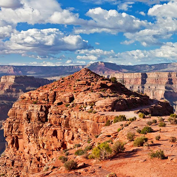 GRAND CANYON HELICOPTER WEST RIM INDIAN ADVENTURE LANDING TOUR