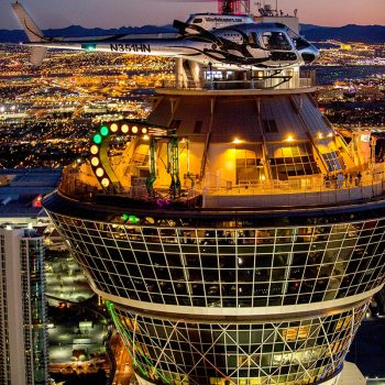 las vegas night club tour and helicopter