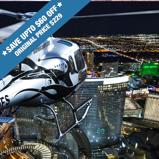 Las Vegas Helicopter & Dining Tour