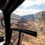 grand canyon floor landing helicopter tour flight below the rim