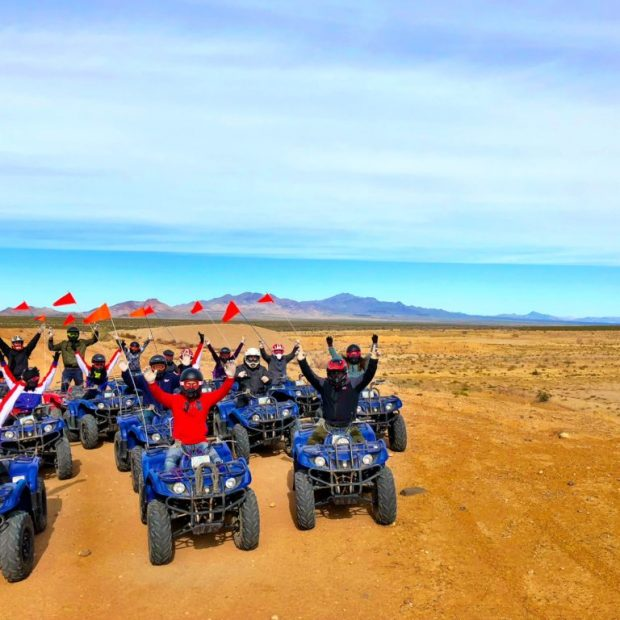 GROUP FUN LAS VEGAS ATV MOJAVE DESERT ADVENTURE TOUR