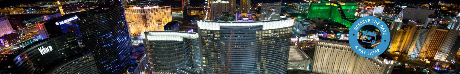Las Vegas Night Strip Helicopter Flight Wedding Ceremony Package