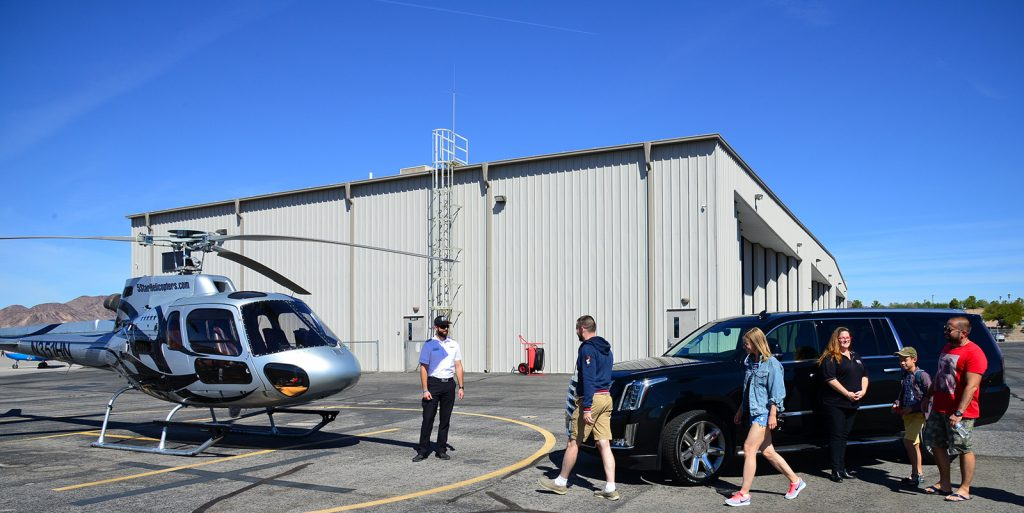 5 Star Helicopter Tours Luxury Cadillac Escalade