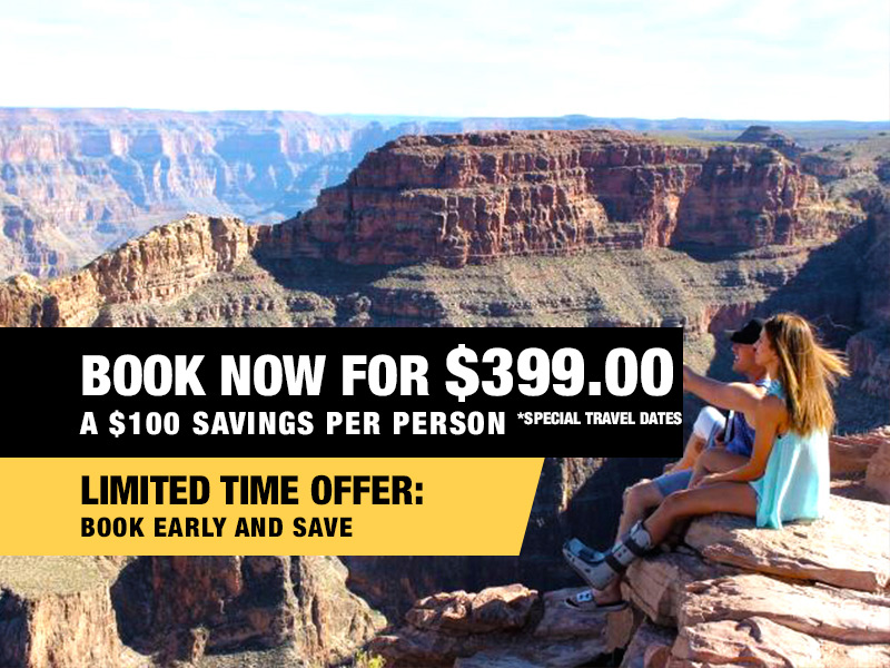 Grand Canyon Helicopter Rim Landing Tour Value $499 Book Now From $399