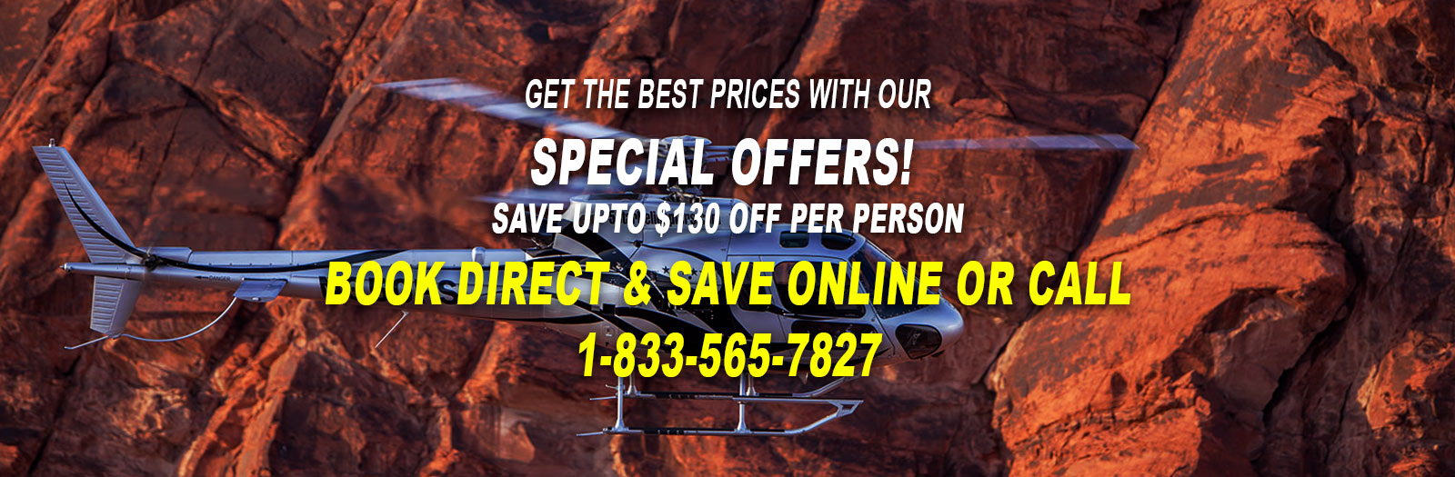 discount grand canyon helicopter tours and special offers