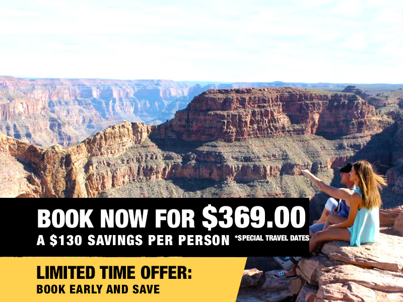 Grand Canyon Helicopter Eagle Point Rim Landing Tour Value $499 Book Now From $369