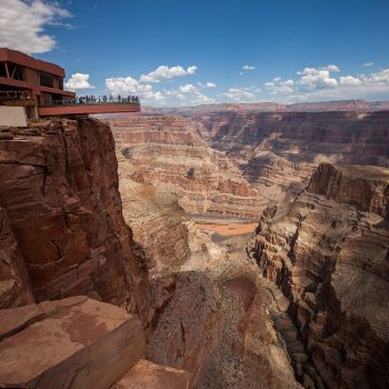 Grand Canyon West Rim Bus & Helicopter Adventure - skywalk