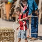 GRAND CANYON WEST RIM HOTEL CABIN STAY HUALAPAI RANCH FAMILY FUN ROPING LESSONS