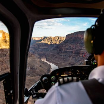 GRAND CANYON HELICOPTER cabin views