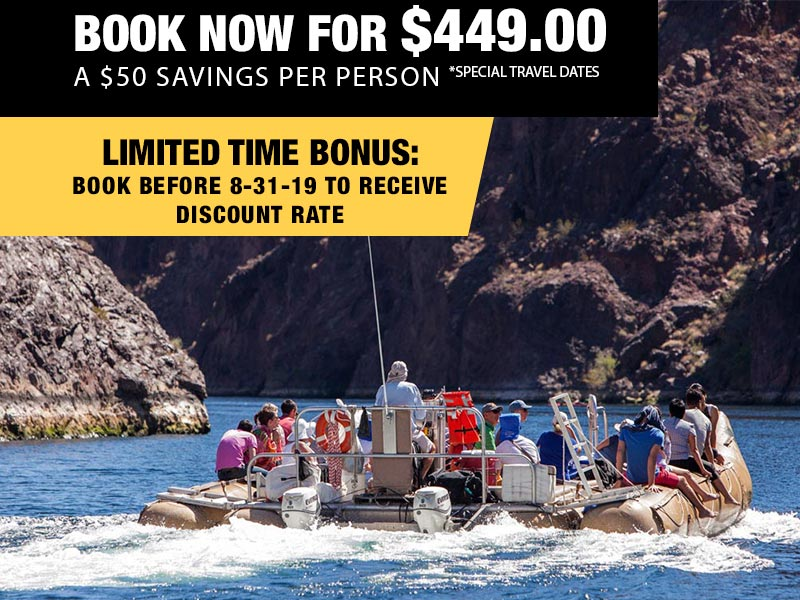 Grand Canyon Helicopter & Black Canyon Rafting Tour