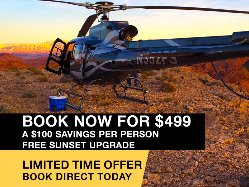 discount las vegas grand canyon valley of fire helicopter tour