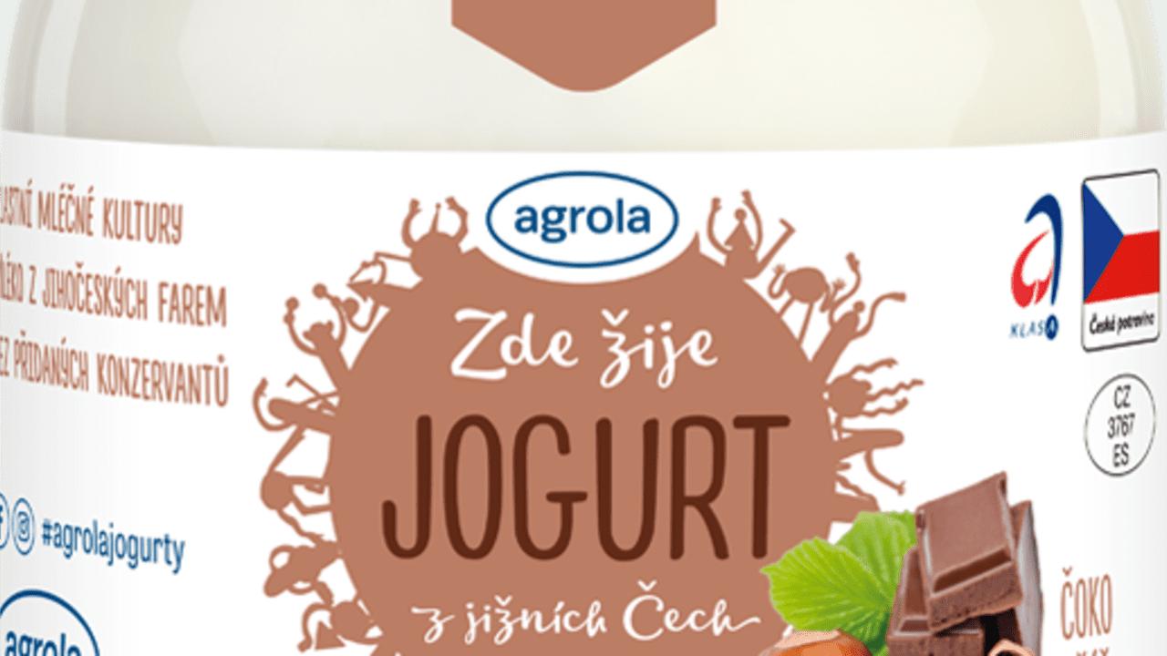 Jogurt čoko oříšek