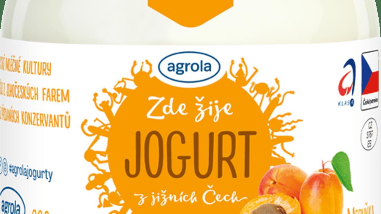 Jogurt meruňka