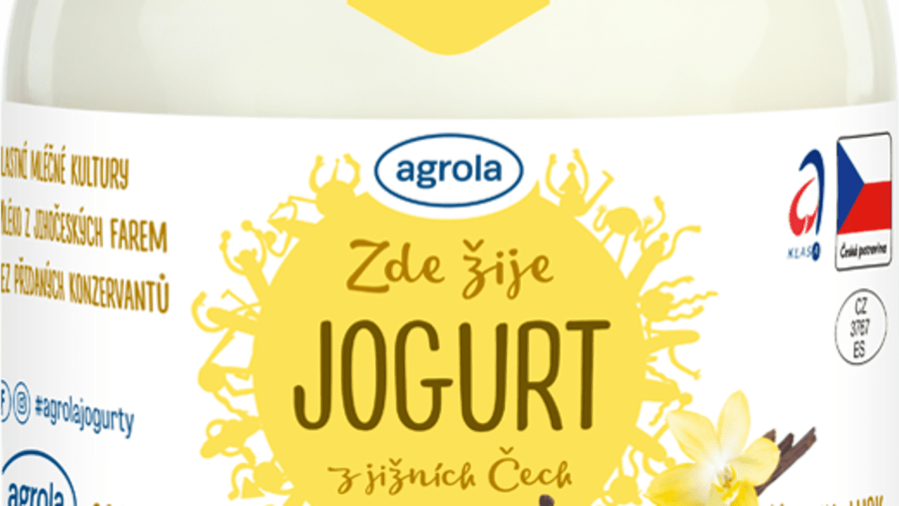 Jogurt vanilka