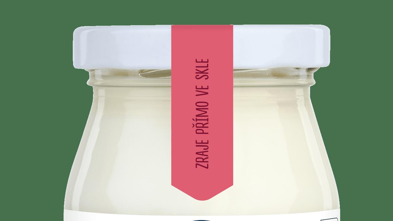 Jogurt-brusinka