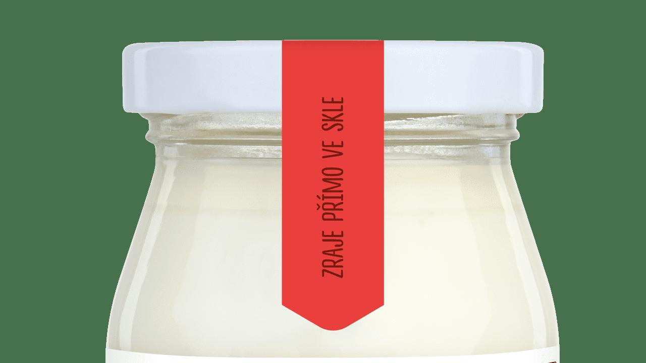 Jogurt-jahoda