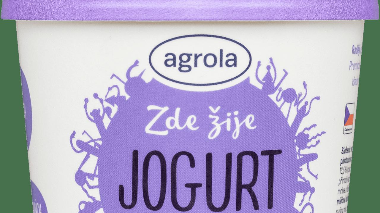 Jogurt-v-kelímku-borůvka