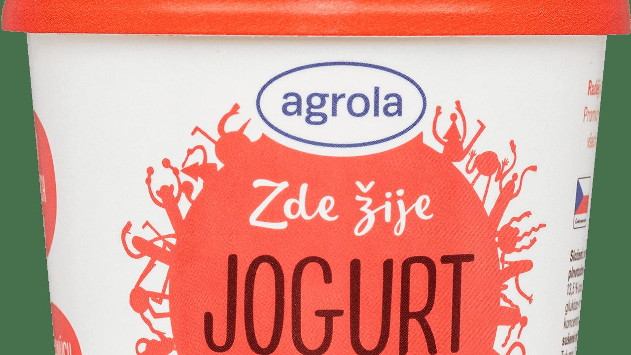 Jogurt-v-kelímku-jahoda