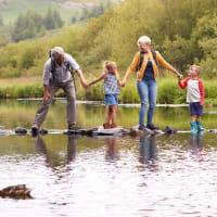 Besteforeldretur til Norefjell