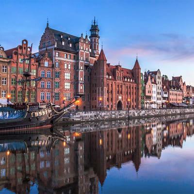 Singeltur til Gdansk