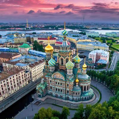 Elvecruise i Russland