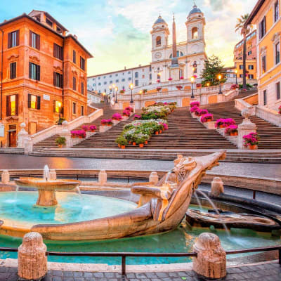 Møt våren i Roma