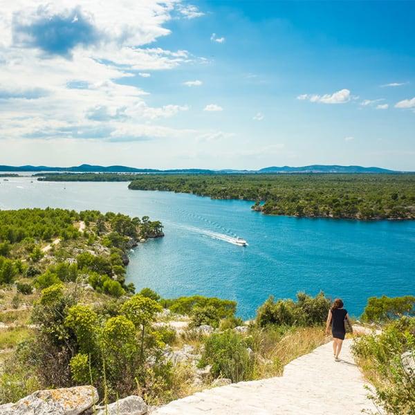 Singeltur - Fotturer i Kroatia