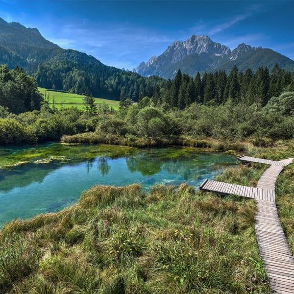 Vandringer i Slovenia