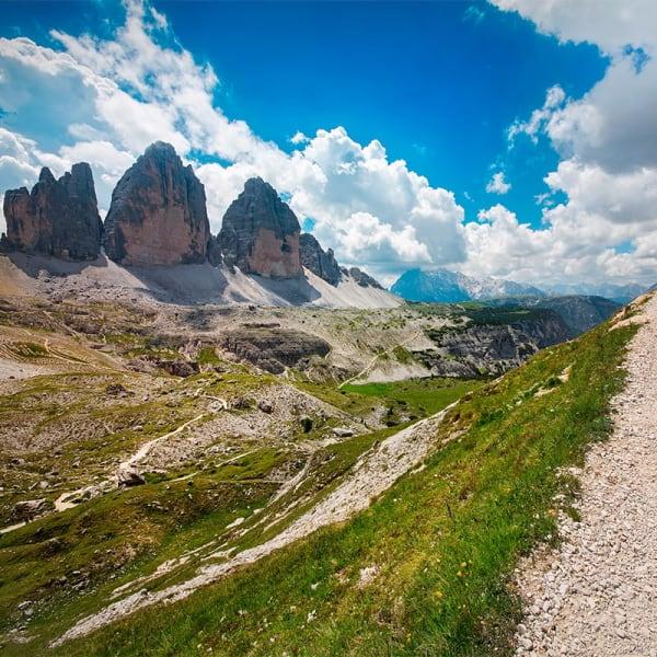 Sommer i Alpene