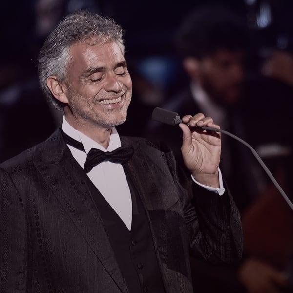Andrea Bocelli i Warszawa