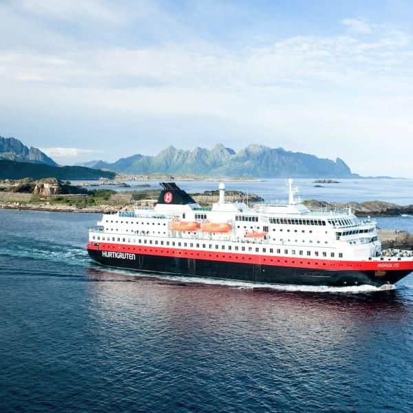 Hurtigruten Kirkenes til Bergen