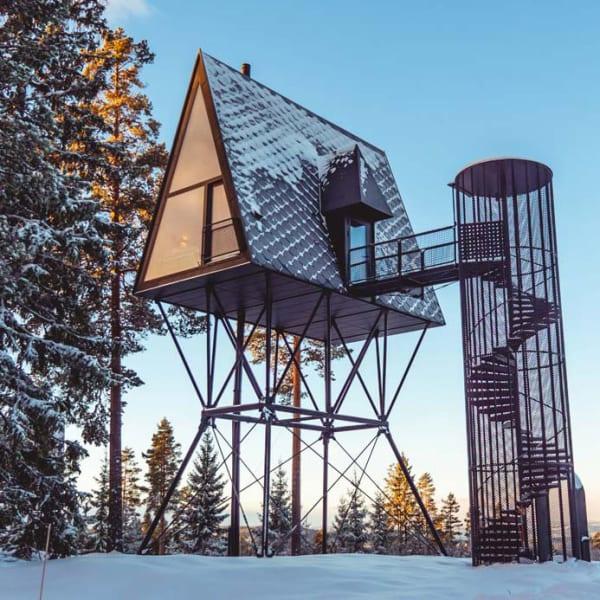 Vinter på Finnskogen