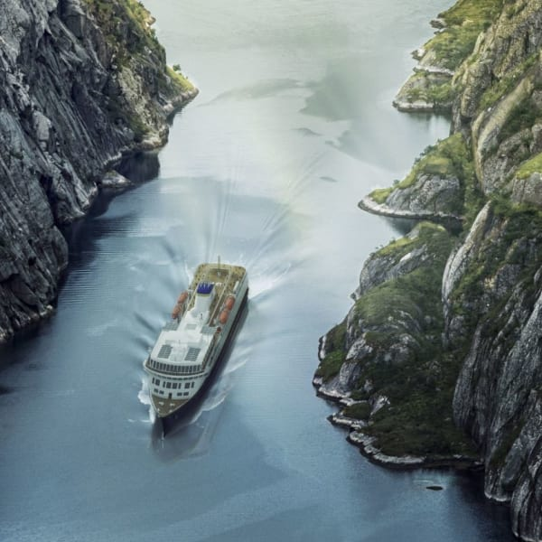 Kystruten fra Kirkenes til Trondheim