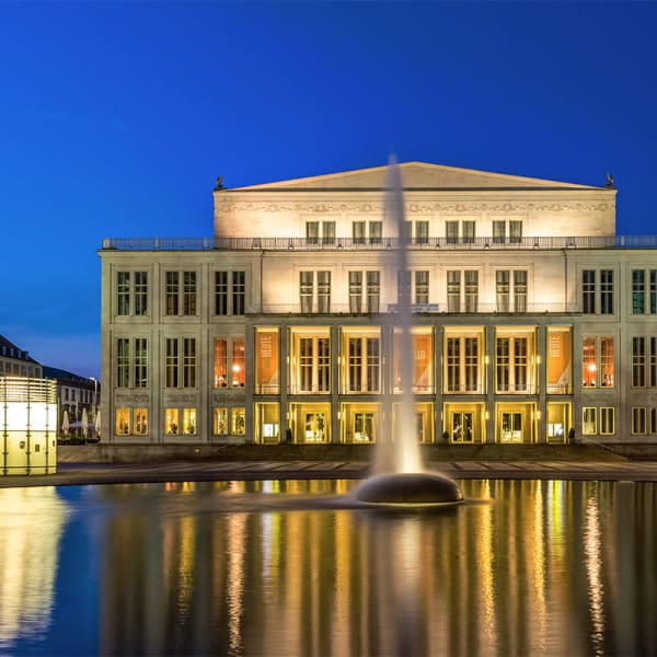 Opera i Leipzig - Ringen av Wagner