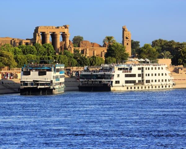 Aswan - Kom Ombo - Edfu - Luxor (F, L, M)
