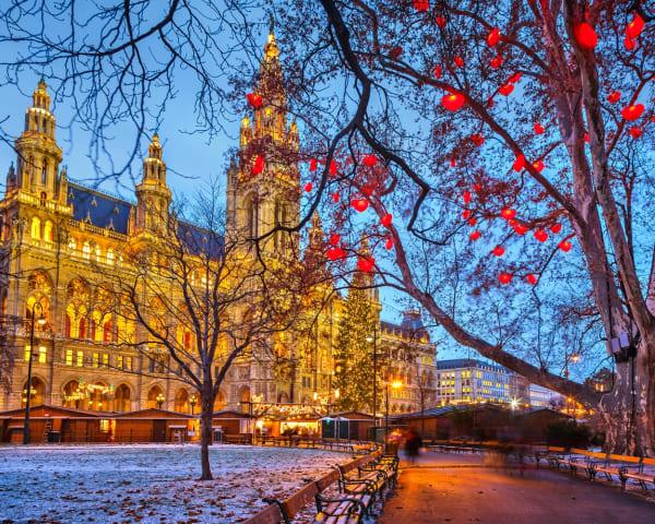 Avreise Oslo - Wien (M)